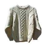 heavy woolen sweater